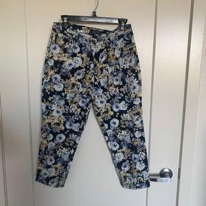 💕 Charter Club Floral Pants